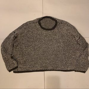 Eileen Fisher Chunky Waffle Knit Sweater
